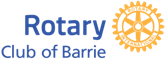 Barrie rotary events logo